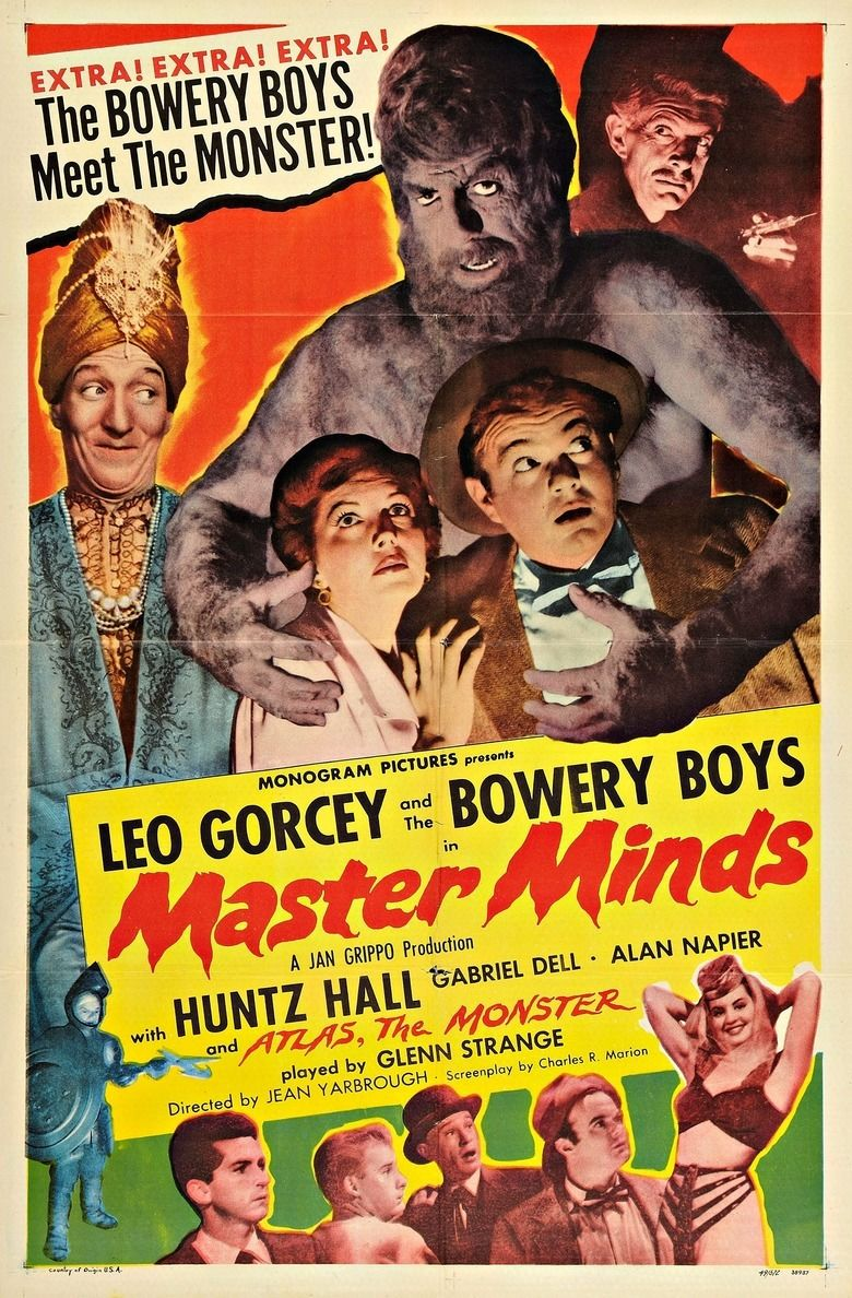 Master Minds movie poster