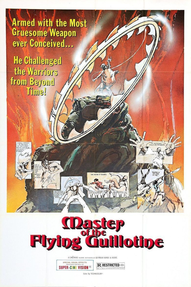 Master of the Flying Guillotine movie poster