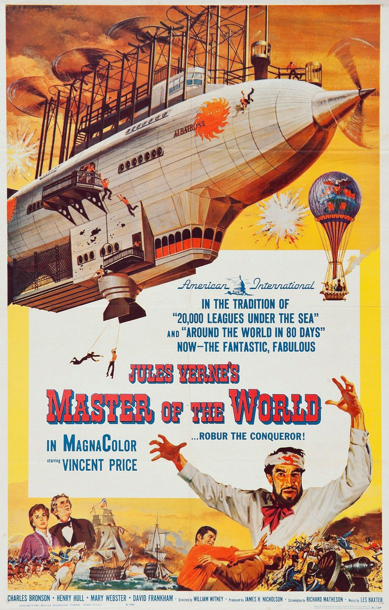 Master of the World (1961 film) movie poster