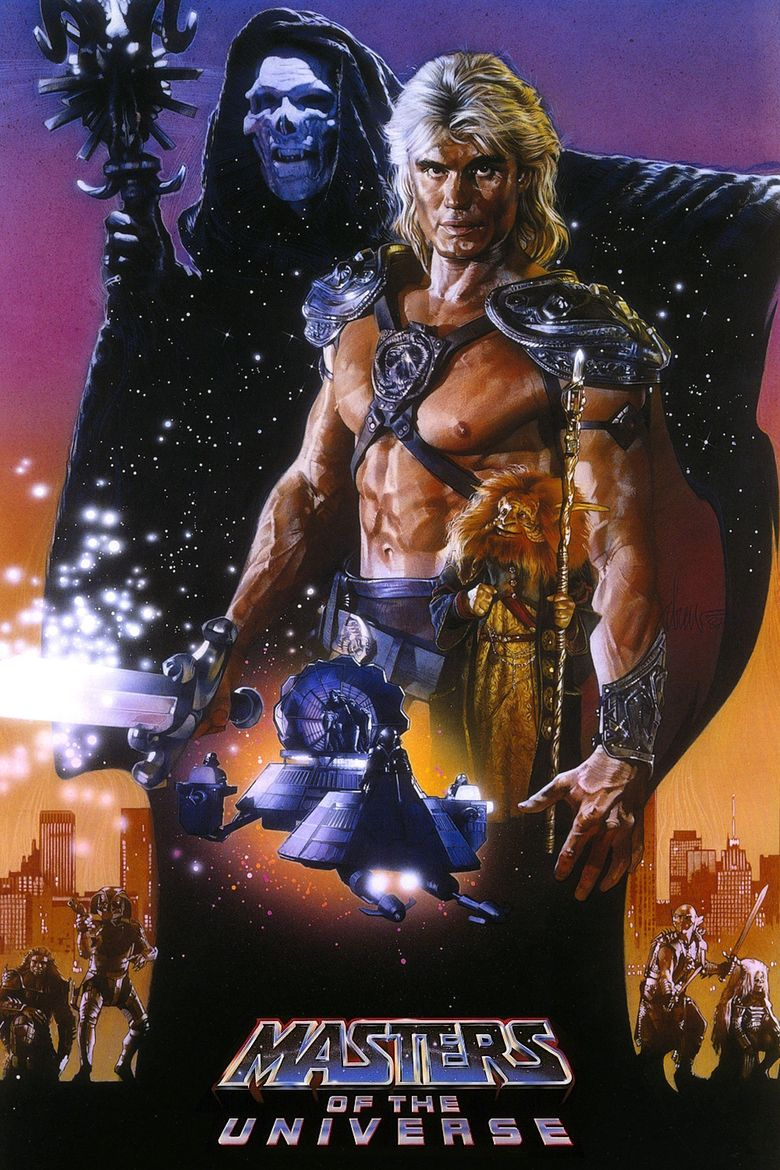 Masters of the Universe (film) movie poster
