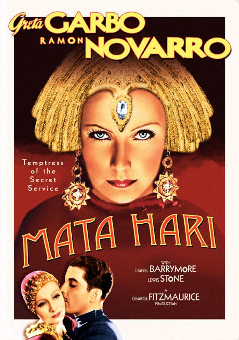 Mata Hari (1931 film) movie poster
