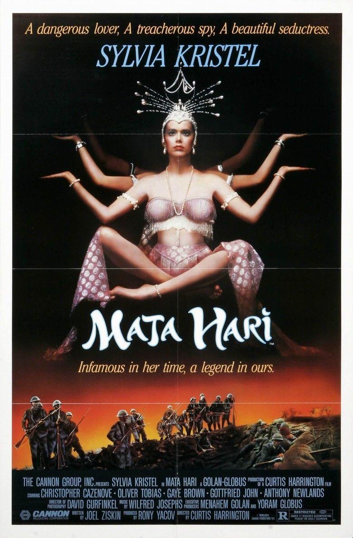 Mata Hari (1985 film) movie poster