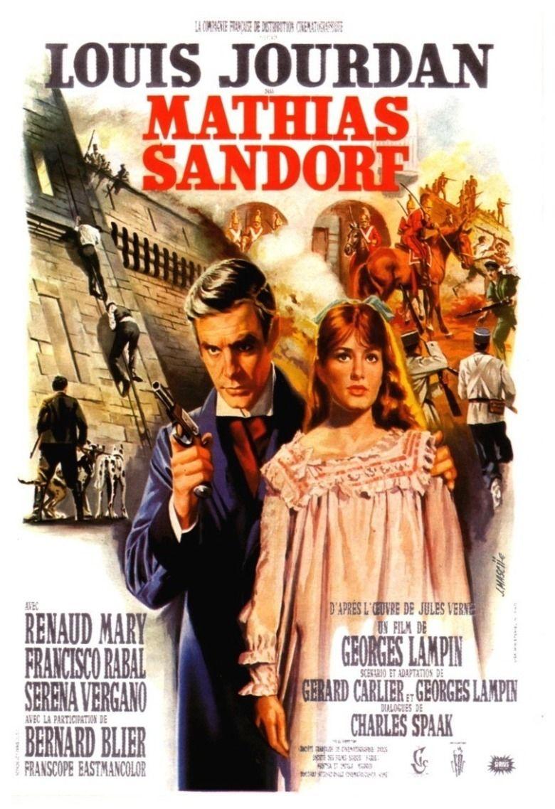 Mathias Sandorf (1963 film) movie poster