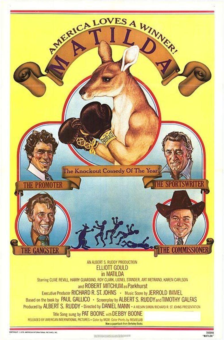 Matilda (1978 film) movie poster