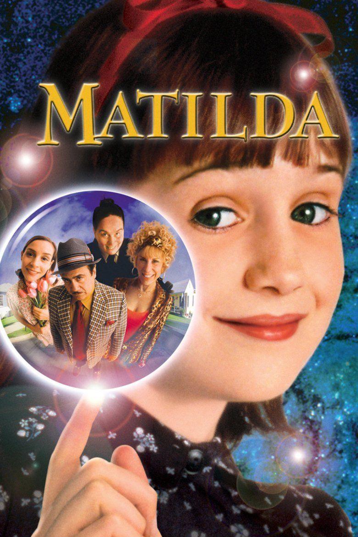 Matilda (1996 film) movie poster