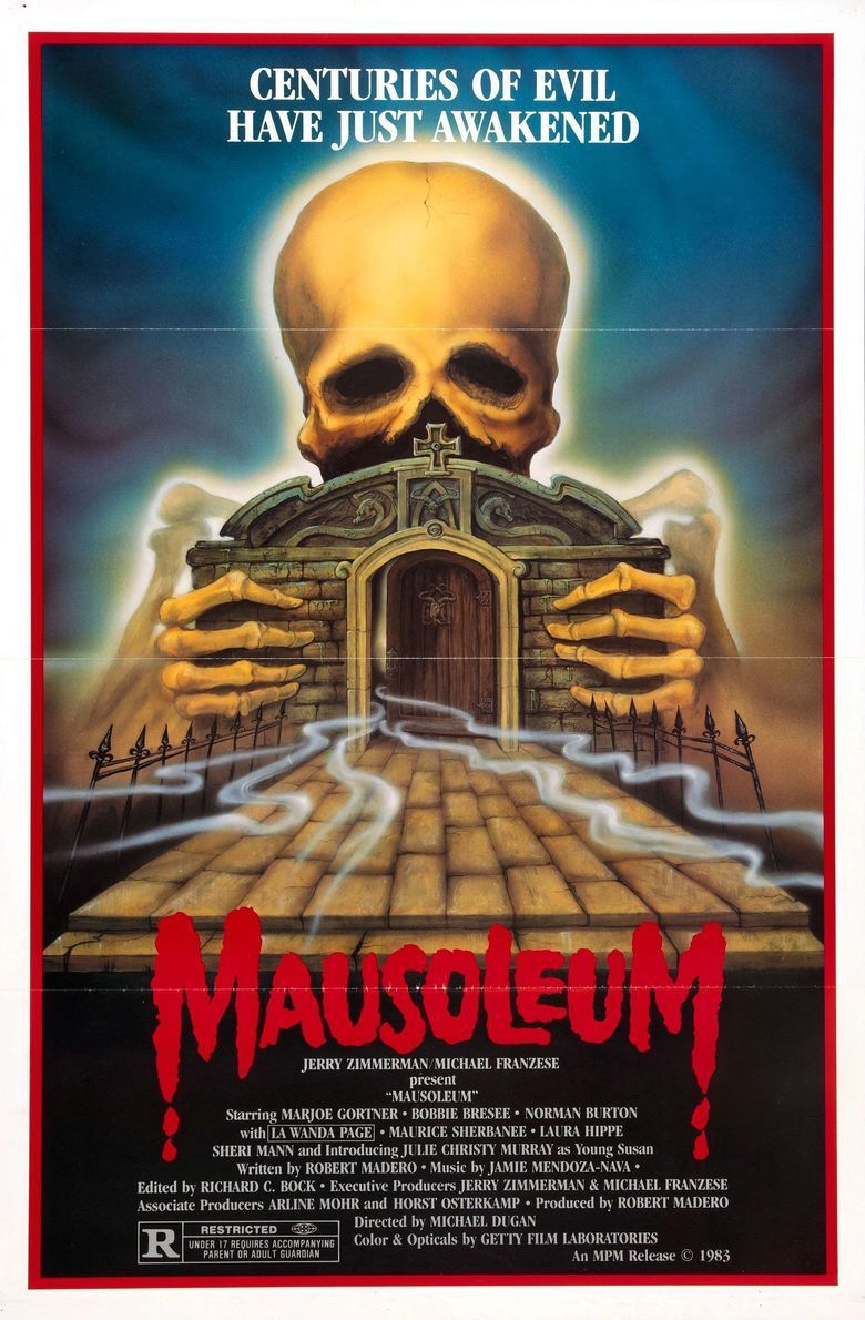 Mausoleum (film) movie poster