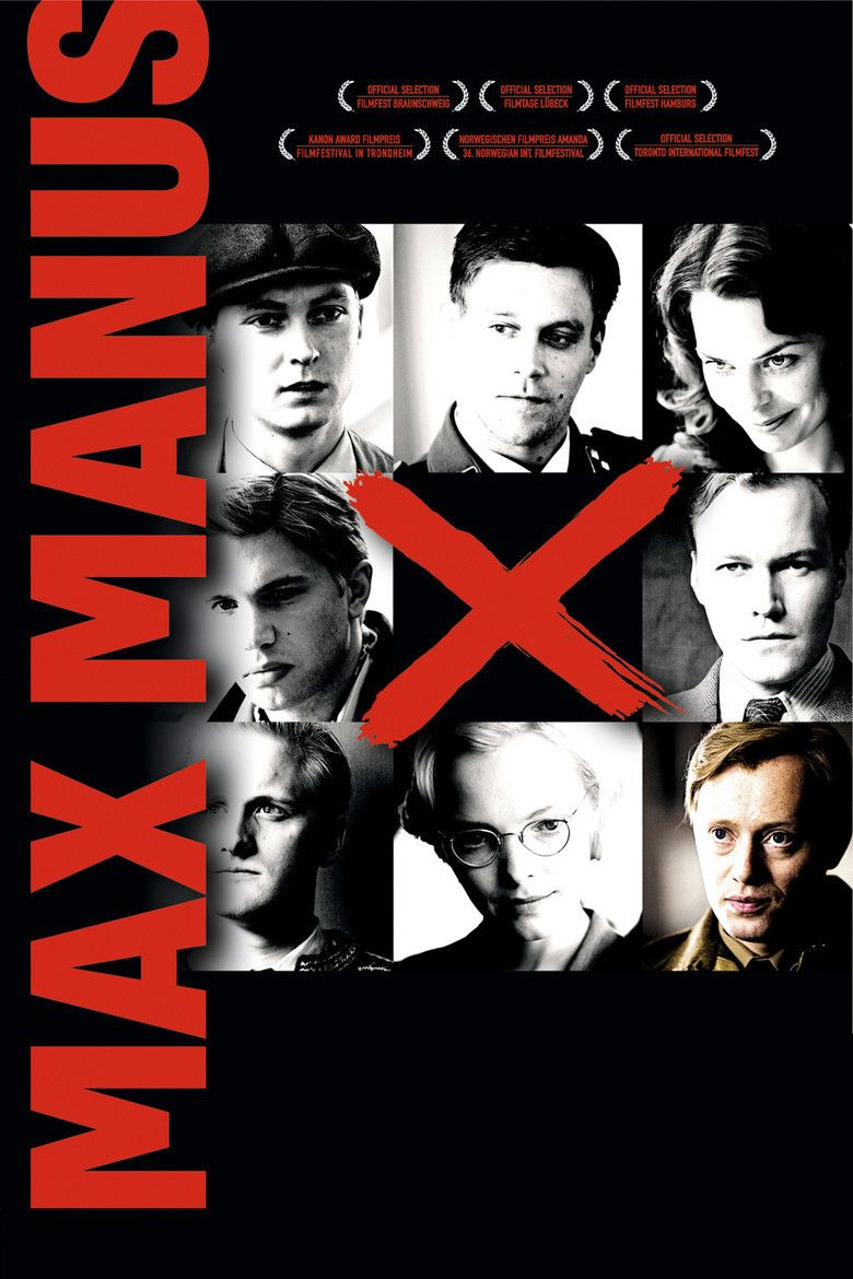 Max Manus: Man of War movie poster
