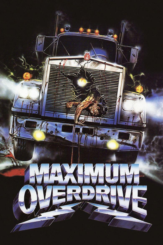 Maximum Overdrive movie poster