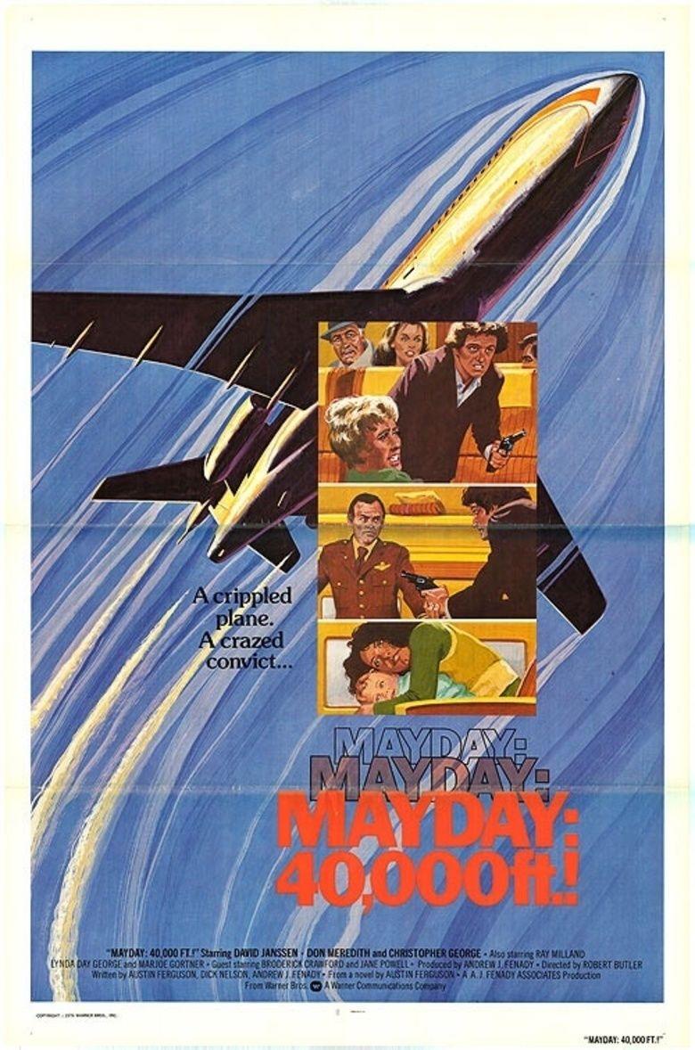 Mayday at 40,000 Feet! movie poster