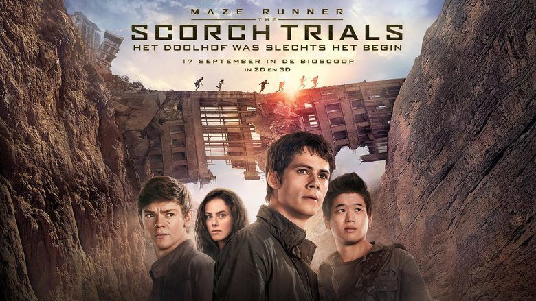 Maze Runner: The Scorch Trials movie scenes