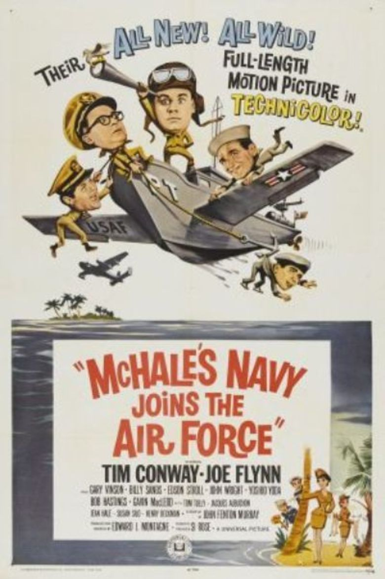 McHales Navy Joins the Air Force movie poster
