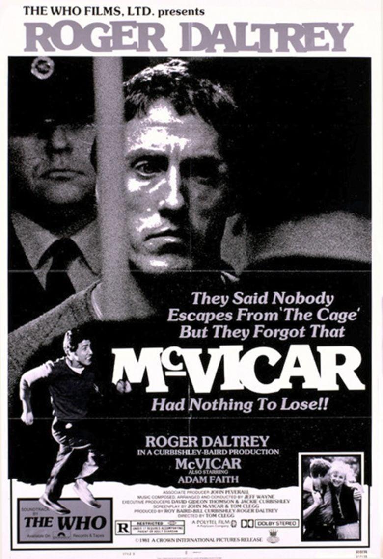 McVicar (film) movie poster