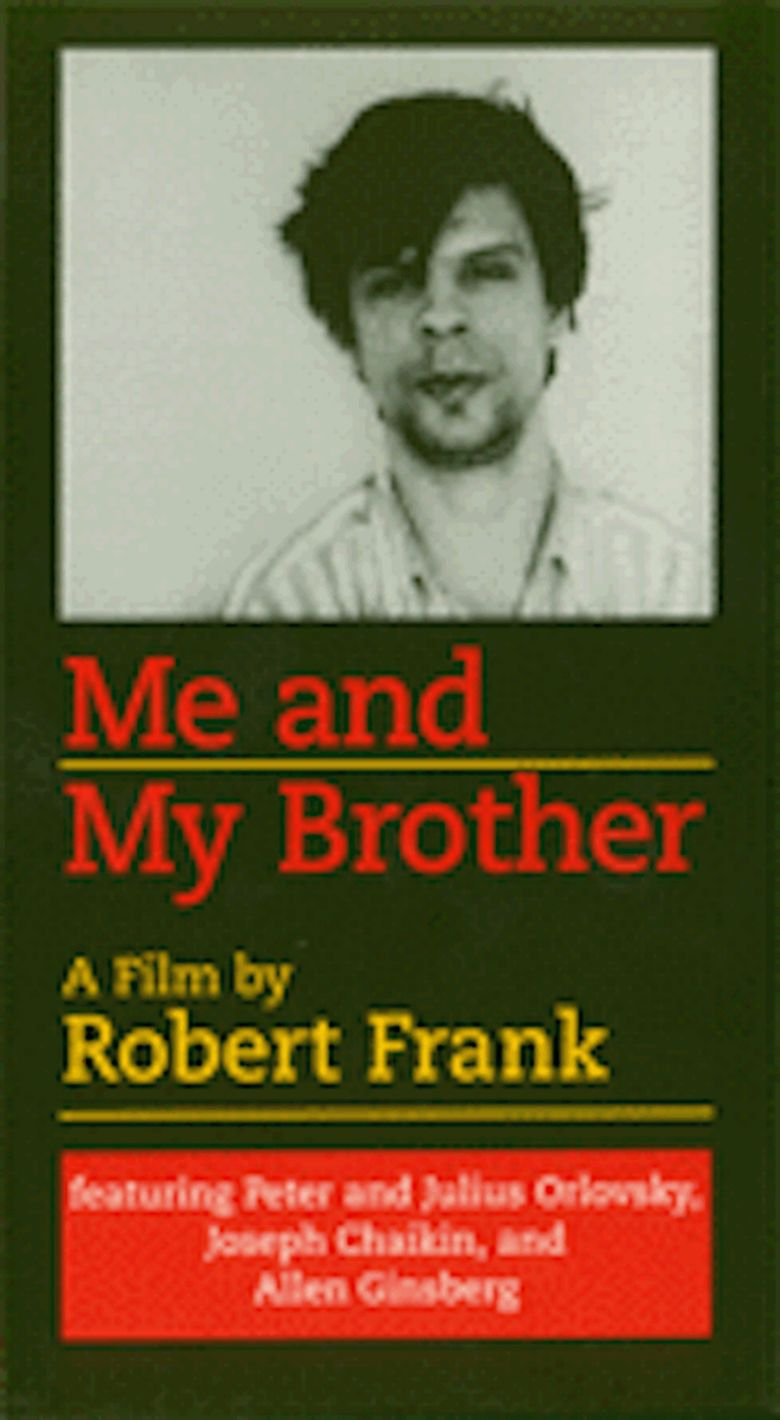 Me and My Brother (film) movie poster