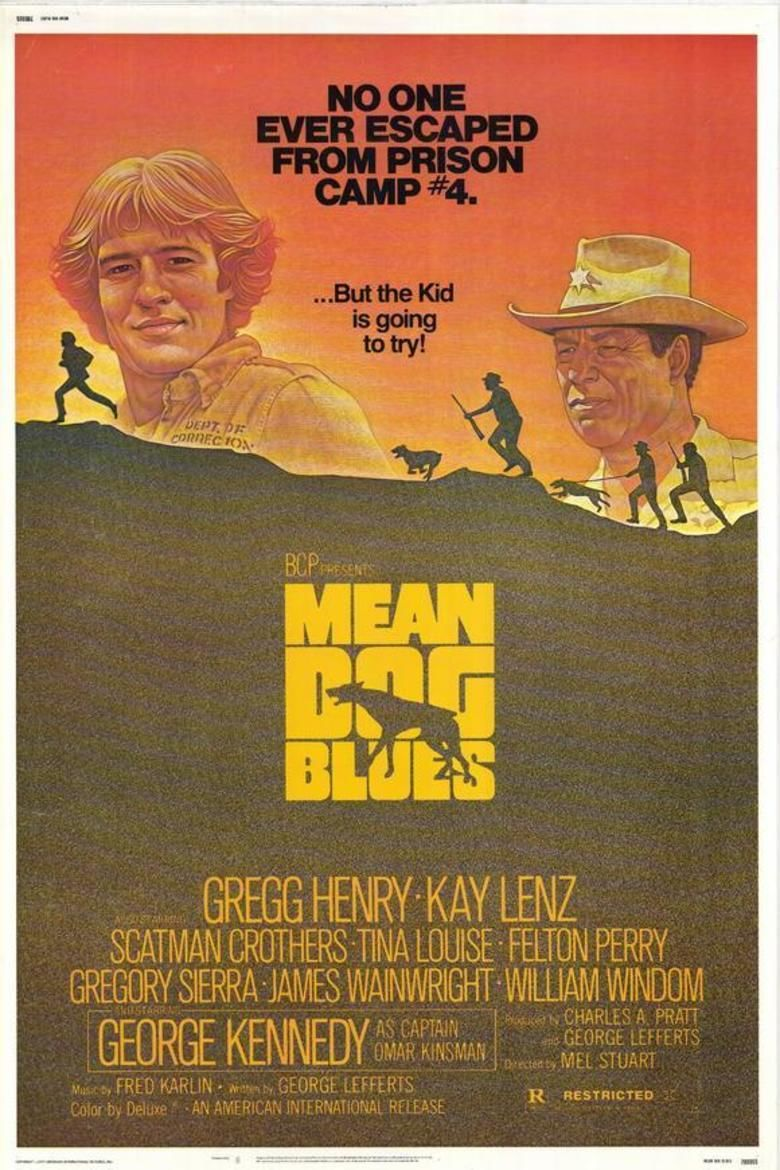 Mean Dog Blues movie poster