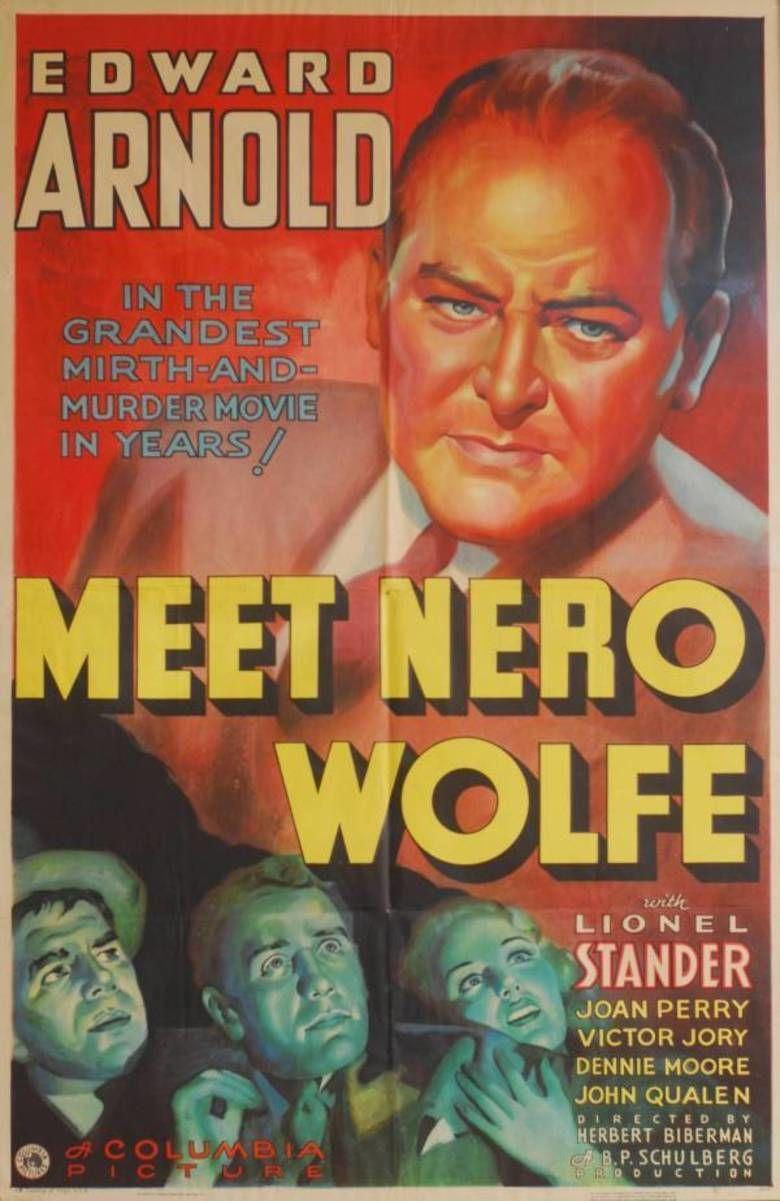 Meet Nero Wolfe movie poster