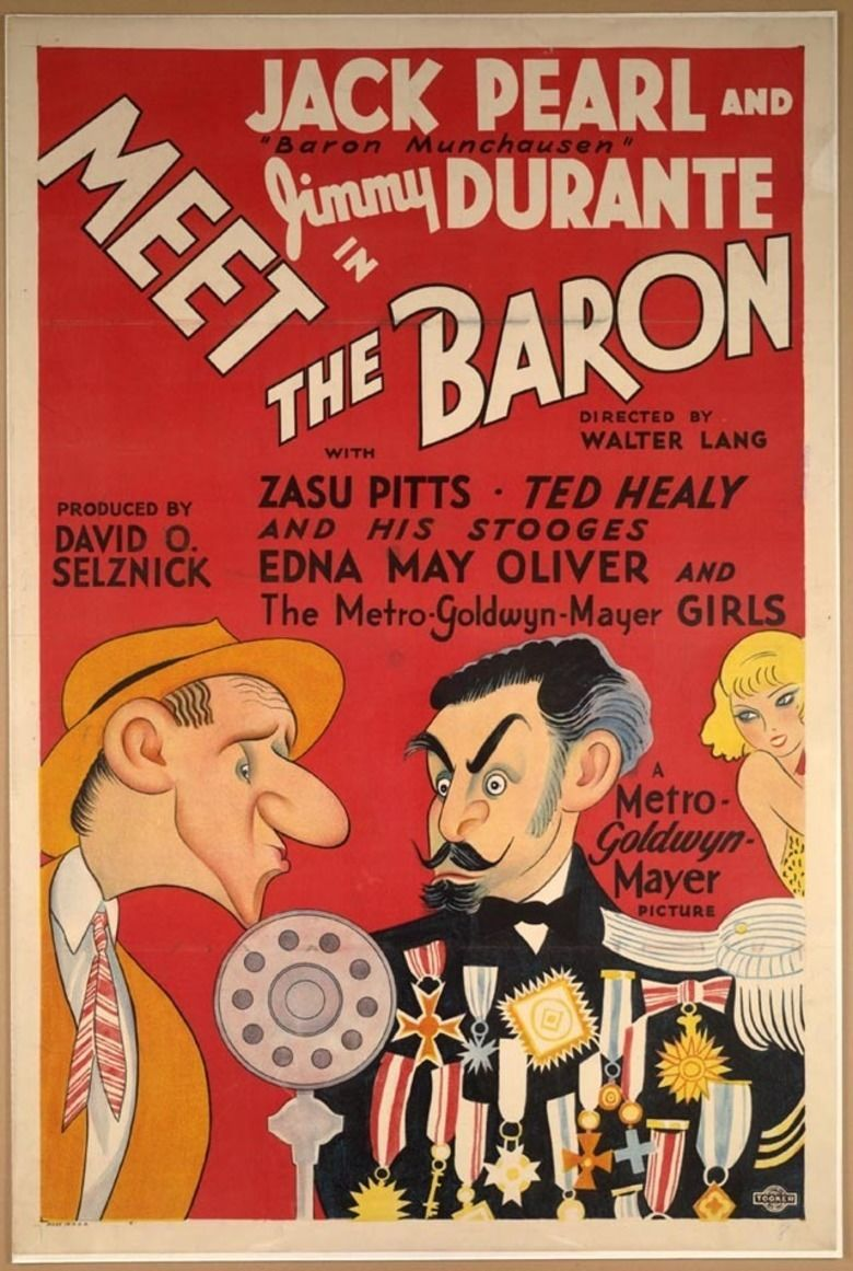 Meet the Baron movie poster