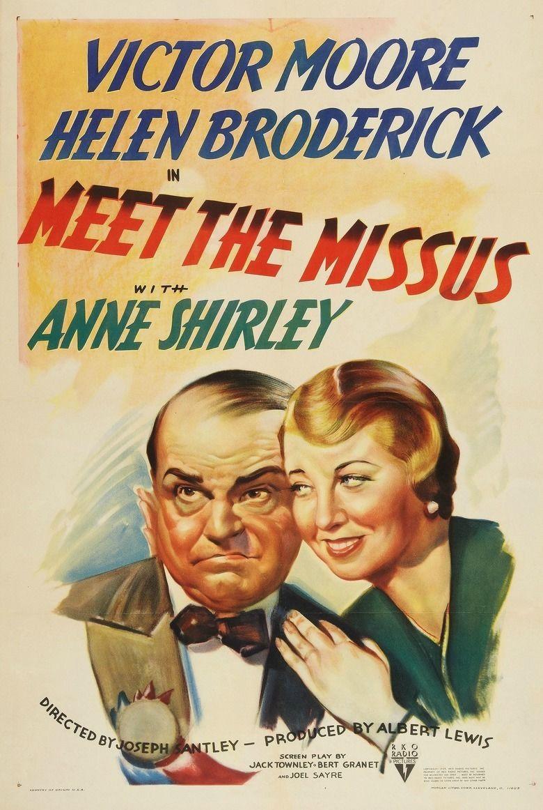Meet the Missus (1937 film) movie poster
