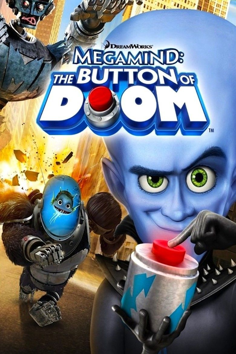 Megamind: The Button of Doom movie poster