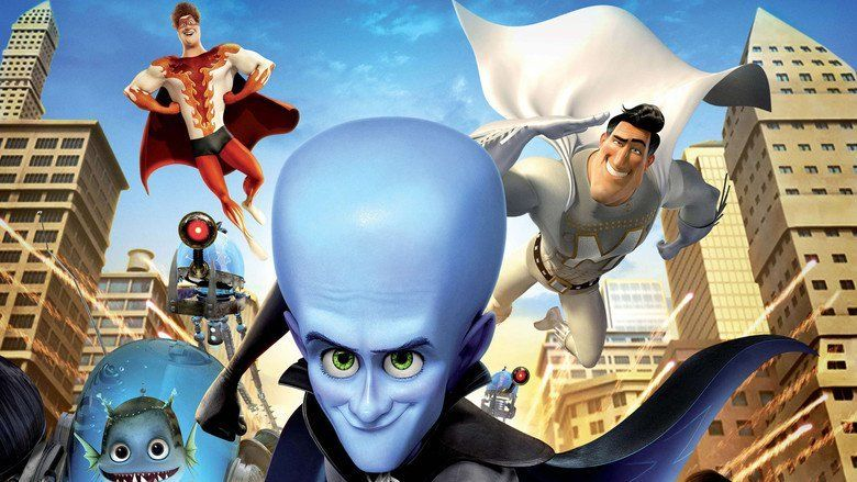Megamind movie scenes