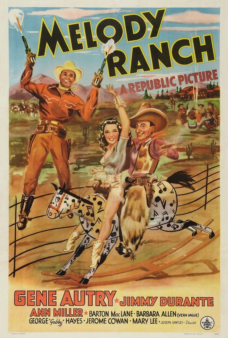 Melody Ranch movie poster
