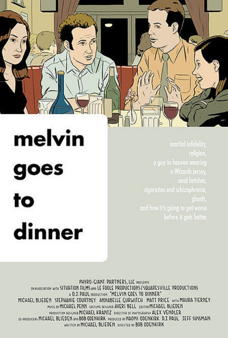 Melvin Goes to Dinner movie poster