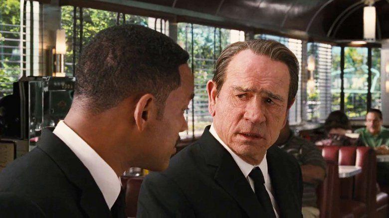 Men in Black 3 movie scenes