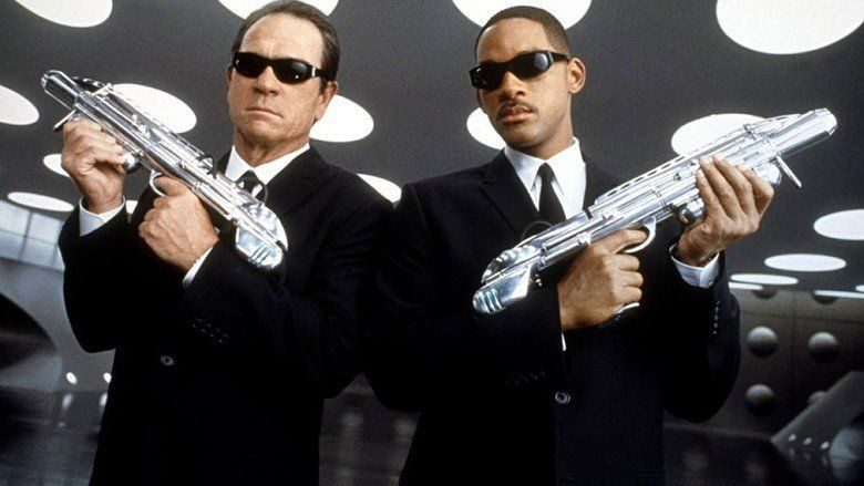 Men in Black II movie scenes