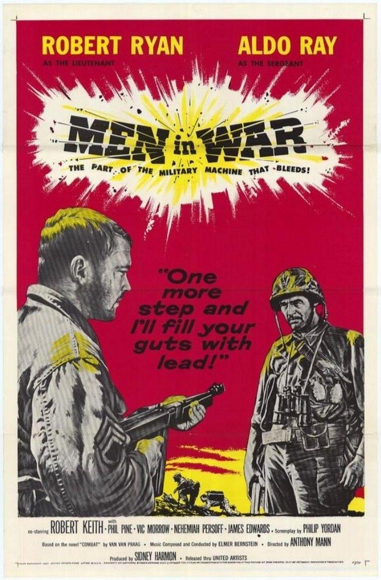 Men in War movie poster