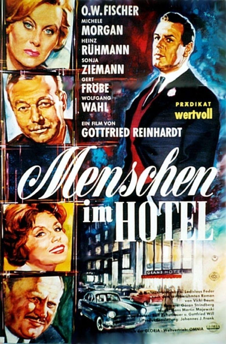 Menschen im Hotel movie poster