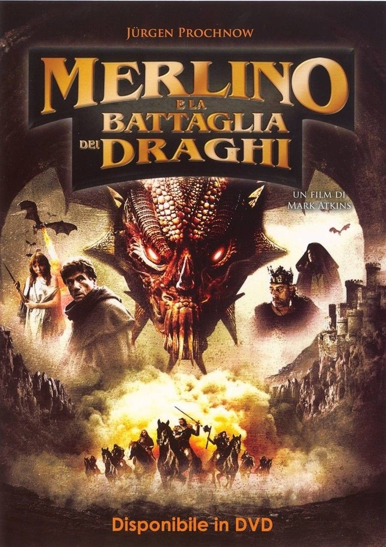 Merlin and the War of the Dragons movie poster