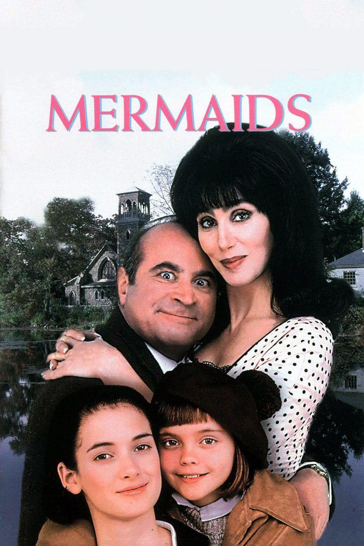 Mermaids (1990 film) movie poster