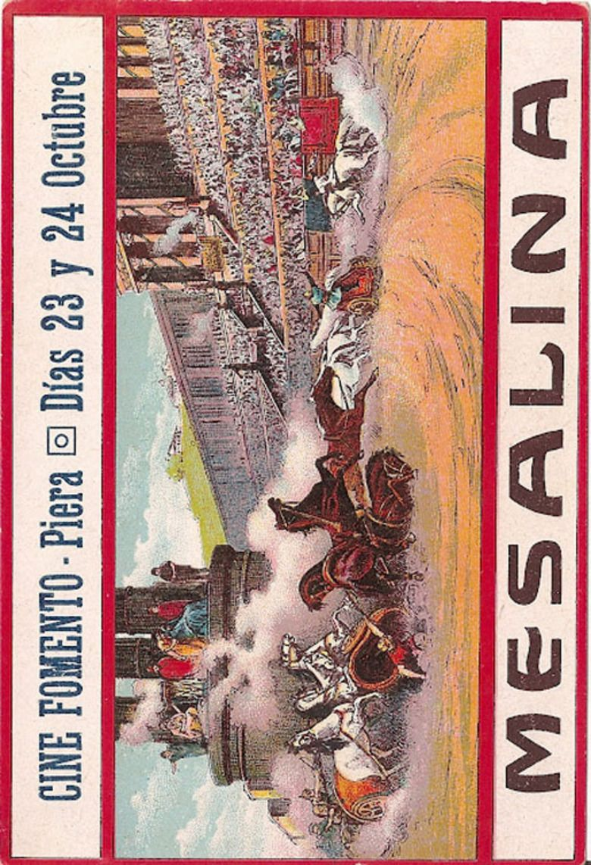 Messalina (1924 film) movie poster
