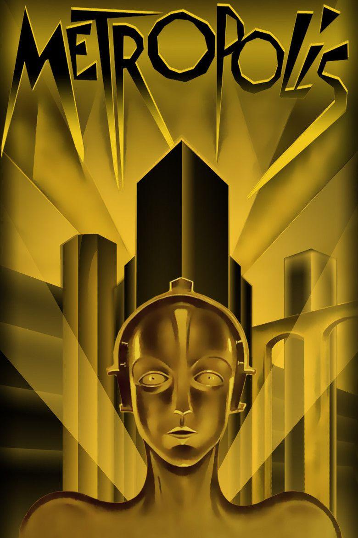 Metropolis (1927 film) movie poster