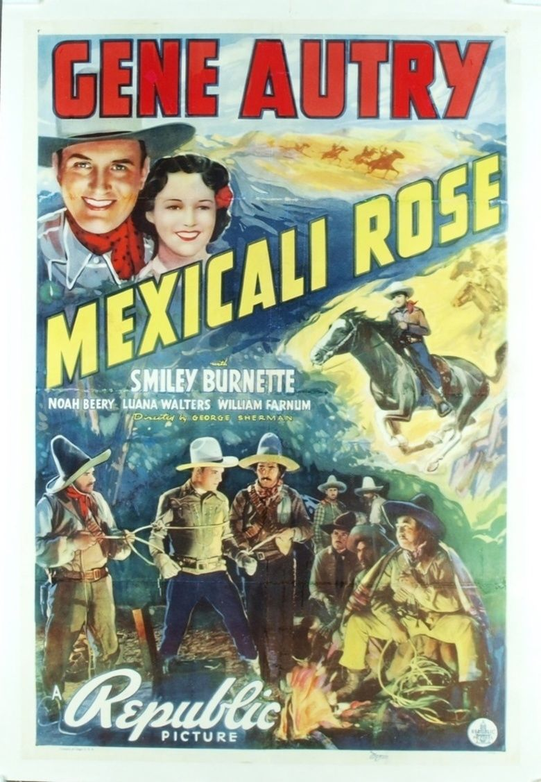 Mexicali Rose (1939 film) movie poster