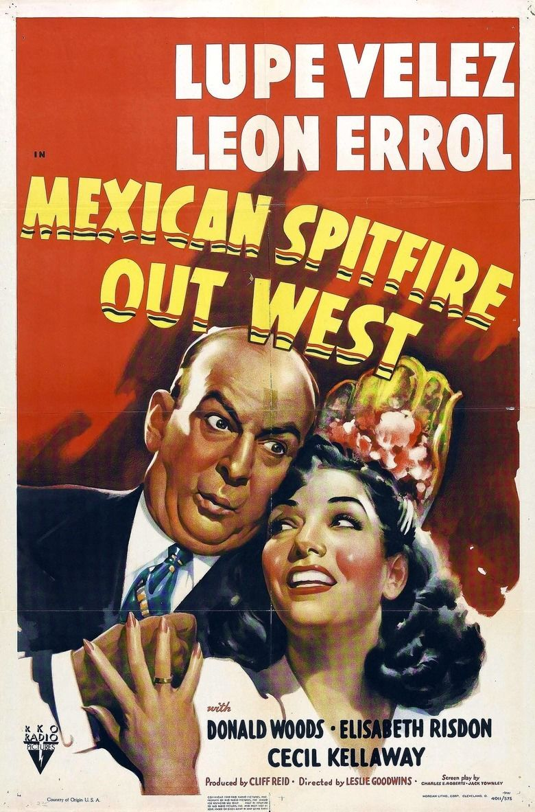 Mexican Spitfire Out West movie poster