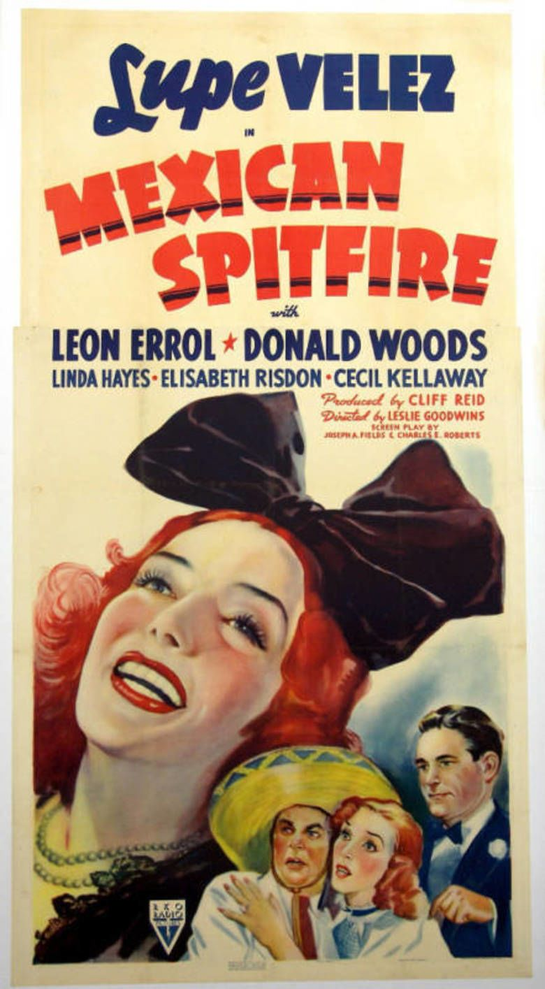 Mexican Spitfire (film) movie poster