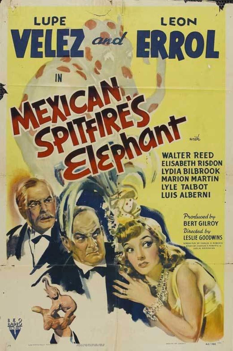 Mexican Spitfires Elephant movie poster