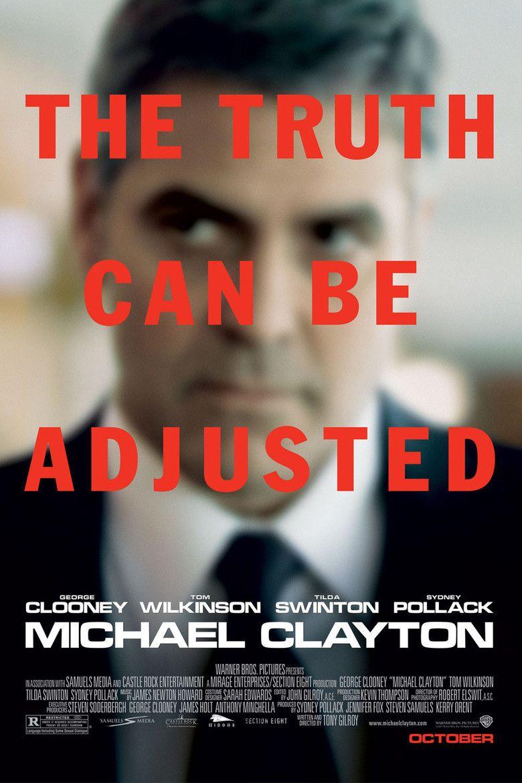 Michael Clayton (film) movie poster