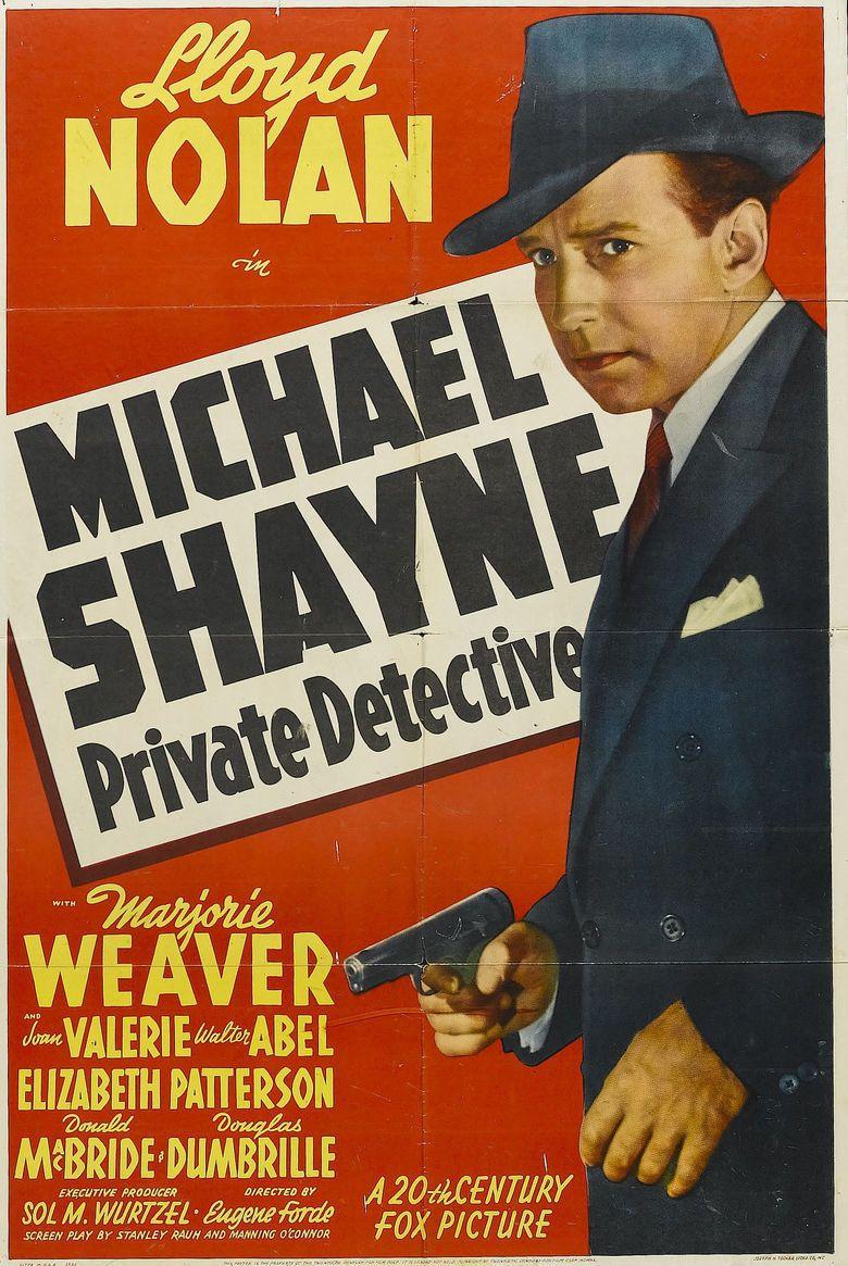 Michael Shayne, Private Detective movie poster