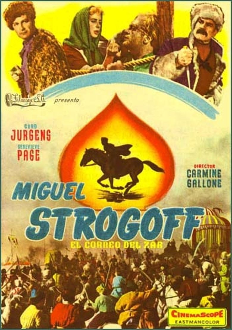 Michel Strogoff (film) movie poster
