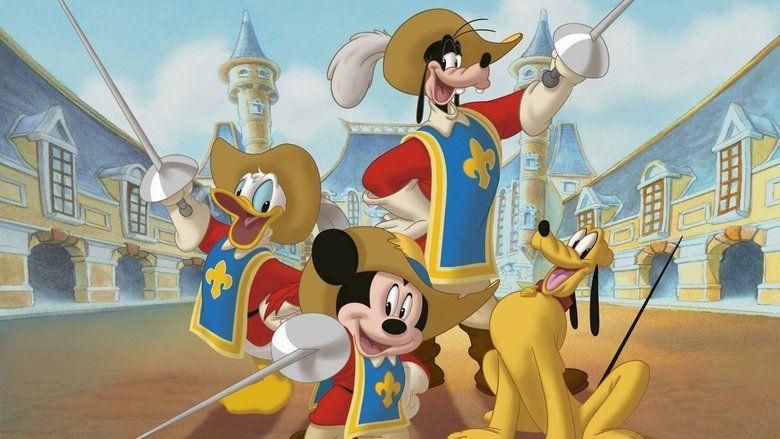 Mickey, Donald, Goofy: The Three Musketeers movie scenes