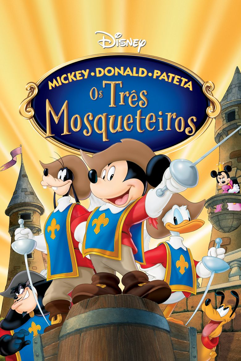 Mickey, Donald, Goofy: The Three Musketeers movie poster
