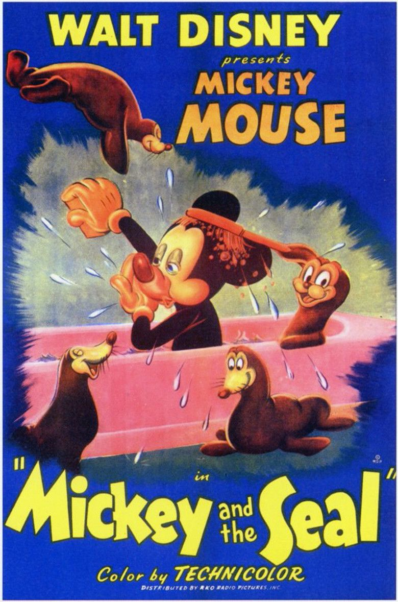 Mickey and the Seal movie poster