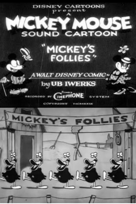 Mickeys Follies movie poster