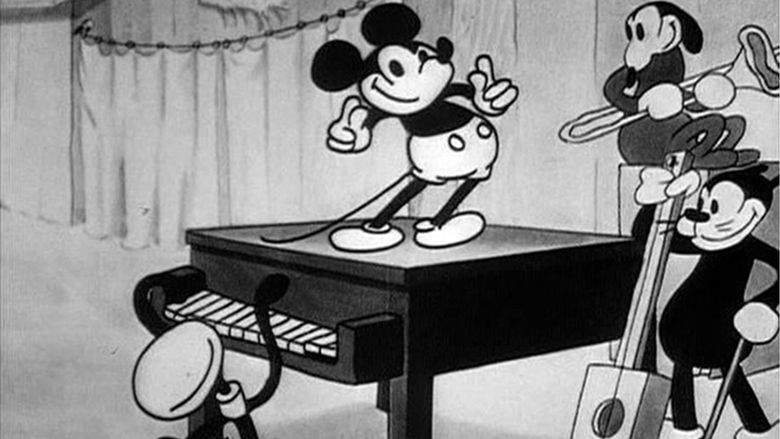 Mickeys Follies movie scenes