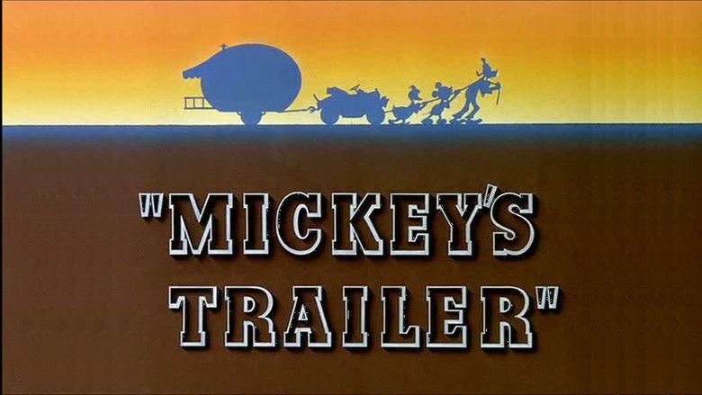Mickeys Trailer movie scenes