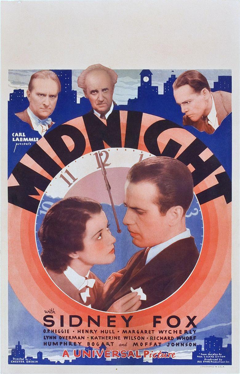 Midnight (1934 film) movie poster