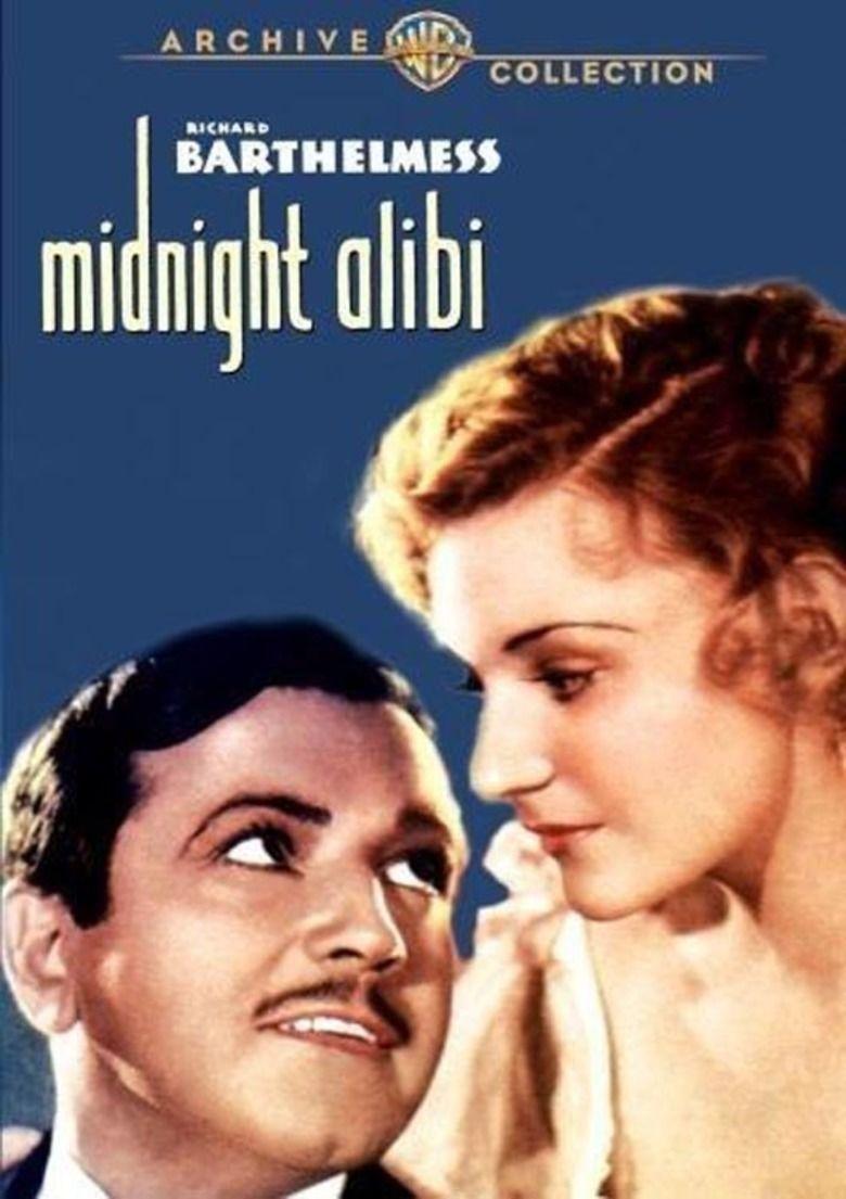 Midnight Alibi movie poster
