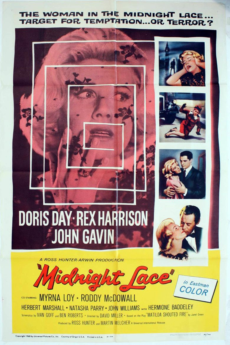 Midnight Lace movie poster