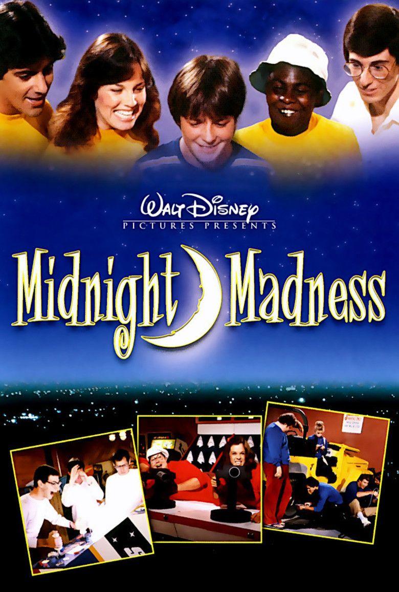 Midnight Madness (film) movie poster